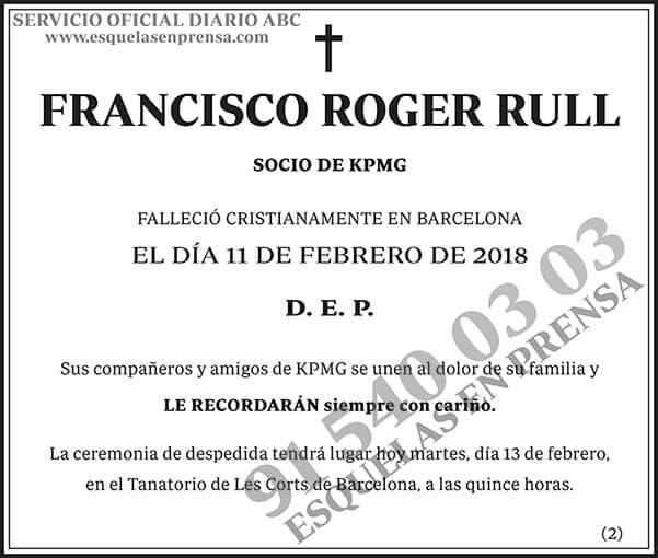 Francisco Roger Rull
